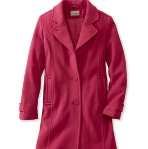 Classic Lambswool Polo Coat, Three-Quarter 12 reg